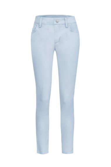 SKINNY-FIT JEANS IN LIGHT BLUE STRETCH DENIM